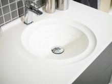 Art tvättställspaket 908 mm betonggrå