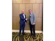 Steve Miller, CEO MRC Malaysia and Jonathan Hewett, Thatcham Research Chief Executive