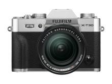 FUJIFILM X-T30 silver XF18-55