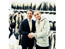 Bridgestone väljer Valentino Rossi som däckutvecklingsrådgivare