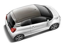 Nya Citroën C1 uppifrån