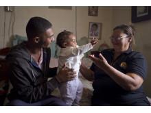 Hembesök hos familjer i Sydafrika