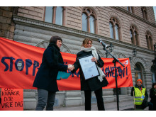 BARNVAGNSMARSCHEN 2016: Stå upp för gravida i krig