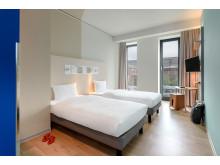 Twin room im ibis budget Bremen City Center © Christoph Weiss