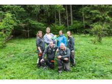 Specialistteamet från Millesons handelsträdgård med familjen Lyckälv, vinnare #Sverigesfulasteträdgård