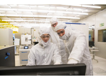 Graphene research demands high class cleanrooms
