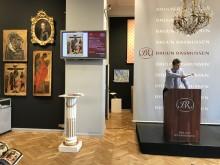 Frederik Bruun Rasmussen sælger russisk ikon for 4,6 mio. kr.