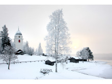 Vinter i Rättvik
