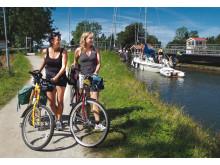 Pressbild - Göta kanal, cykla längs Göta kanal