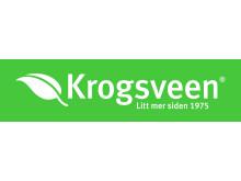 Krogsveen logo med slagord - grønn