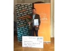 Mats Gustafsson - vinnare SKAPAS Utvecklingstipendium 2016