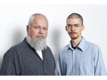 Johannes Pinter och Lucas Svedberg