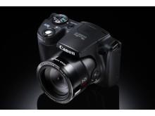 Canon PowerShot SX500 IS ovanifrån