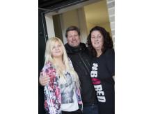 Elisabet Bing med familj flyttar snart från Helsingborg till sin hållbara etagelägenhet i Greenhouse