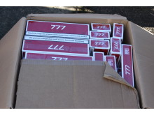 Four men caught red-handed with 1.2 million illegal cigarettes