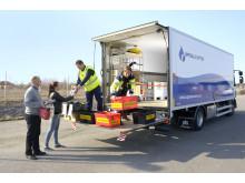 Mobil insamling av farligt avfall