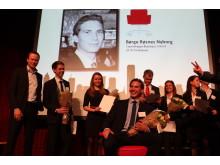 Børge Røsnes Nyborg kåres til vinneren av Konsernsjefen 2012