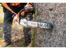 Nya lättare svärd och kedja från STIHL 1