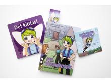 Folktandvården Skånes barnboksserie med tandväktare Lea