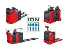 Linde MH:s utökade sortiment av truckar utrustade med litium-jon-batterier