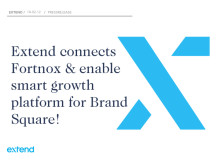 Extend connects Fortnox & enable smart growth platform for Brand Square!