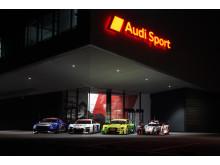 Audi Sport Warm-up 2015: Audi TT cup, Audi R8 LMS, Audi RS 5 DTM, Audi R18 e-tron quattro
