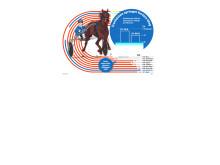 Travhästen springer fortare, 4 spalt färg jpg