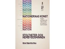 Vernissagekort Nationernas konst