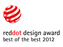 Red dot product design award best of the best 2012 to Ergonomidesign