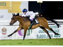 Stina Landh vinner i Abu Dhabi