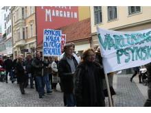Manifestation för psykisk hälsa