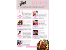 Oumph! show kitchen at Vegan Life Live 2019, Saturday 9th of March