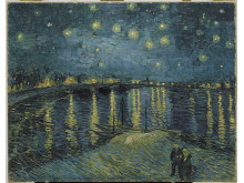 Vincent van Gogh Starry Night over Rhone 1888