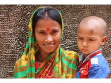 Mitaly Talukdar, mamma från Bangladesh