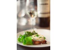 Brochet Réserve Sauvignon Blanc till en klassisk chèvre chaud