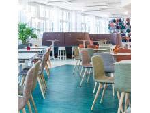Kasthall Mosaikparkett i MSD nya kontor i Hagastaden