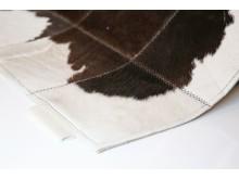Weinbaums - Patchwork-Teppich aus Rinderfell