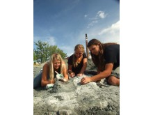 Studentertar fram fram fossil