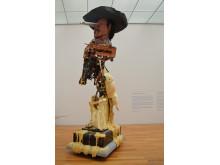"MdbK Leipzig - ""Reality Virtual Reality"" - Skulptur ""CSSC Frederic Remington Charles Bronson"""