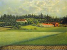 Malma gård i Badelunda socken utanför Västerås 1896