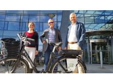 Linköping först med elcykelpool