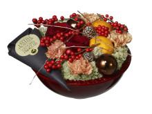 Jul på Interflora: Tomteskål med choklad