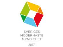 Sveriges modernaste myndighet 2017
