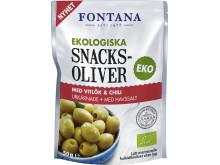 Eko Snacksoliver - med vitlök och chili
