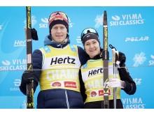 Vinnerne av Visma Alp Trophy