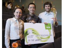 Vinnarna i JIBS Entrepreneurship Challenge 2014