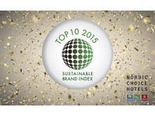 Nordic Choice Hotels med fire topp 10-plasseringer i årets Sustainable Brand Index.