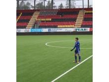 Teodor  Stenshagen_ på fotbollsplanen