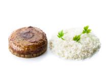 Hasselnötsglaserad kronärtskocka med svampduxelles