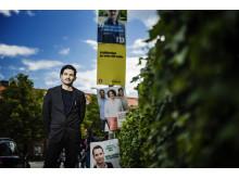 Karim Jebari, filosofiforskare vid KTH. Foto: Marc Femenia